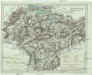 Die Cantone Uri und Unterwalden