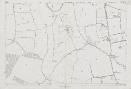 Wiltshire XXIV.14 (includes: Chilton Foliat; Lambourn; Ramsbury) - 25 Inch Map