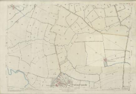 Somerset LXXIV.14 (includes: Chilton Cantelo; Marston Magna; West Camel; Yeovilton) - 25 Inch Map