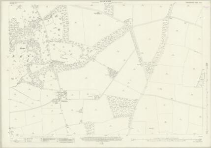 Oxfordshire XX.6 (includes: Chadlington; Lyneham; Sarsden) - 25 Inch Map