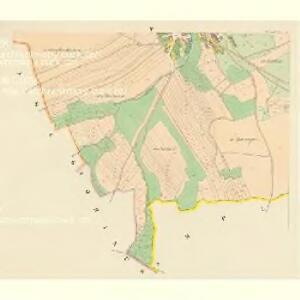 Dneschtitz - c1154-1-005 - Kaiserpflichtexemplar der Landkarten des stabilen Katasters