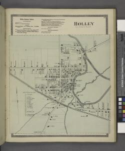 Holley Business Notices. ; Holley [Village]
