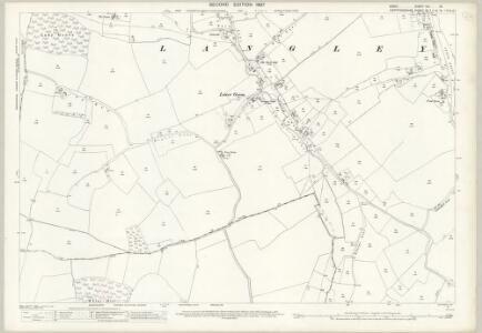 Essex (1st Ed/Rev 1862-96) VIII.13 (includes: Langley; Meesden) - 25 Inch Map