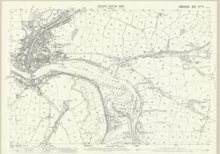 Cardiganshire XXXVIII.5 (includes: Cardigan; Cilgerran; Llangoedmor) - 25 Inch Map