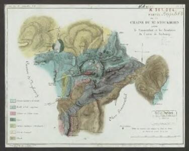 Partie de la chaîne du Mt. Stockhorn entre le Simmenthal et les frontières du Canton de Frybourg