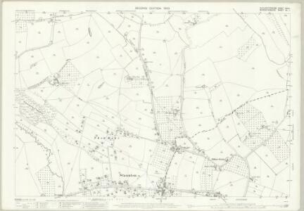 Gloucestershire XVIII.1 (includes: Corse; Eldersfield; Staunton) - 25 Inch Map