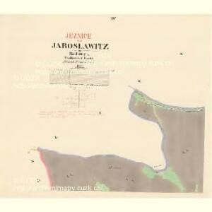 Jaroslawitz - c2775-1-004 - Kaiserpflichtexemplar der Landkarten des stabilen Katasters