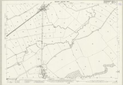 Northamptonshire XI.10 (includes: Caldecott; Great Easton; Gretton; Rockingham) - 25 Inch Map