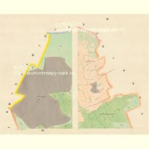 Zihobetz - c9432-1-003 - Kaiserpflichtexemplar der Landkarten des stabilen Katasters