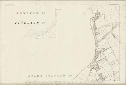 Cumberland XXI.4 (inset XIV.16) (includes: Bowness) - 25 Inch Map