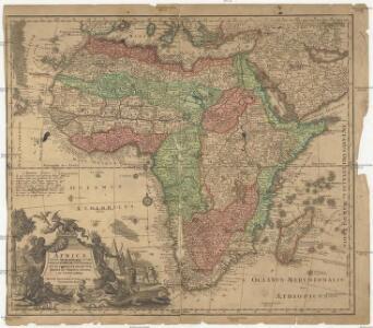 Africa iuxta navigationes et observationes recentissimas aucta correcta et in sua regna et status divisa in lucem edita