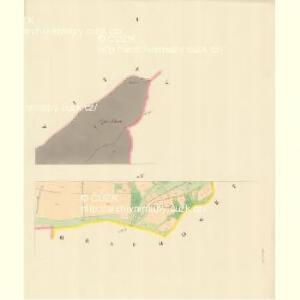 Krhowa - m1360-1-001 - Kaiserpflichtexemplar der Landkarten des stabilen Katasters