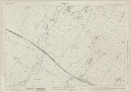 Anglesey XVII.16 (includes: Aberffro; Llangadwaladr; Trefdraeth) - 25 Inch Map