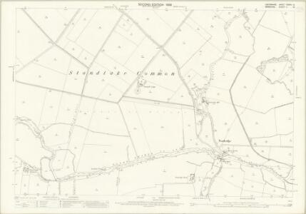 Oxfordshire XXXVIII.10 (includes: Draycot Moor; Kingston Bagpuize; Longworth; Northmoor; Standlake) - 25 Inch Map