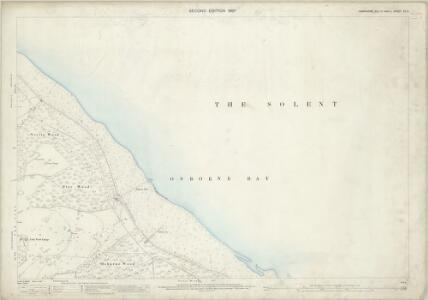 Hampshire and Isle of Wight XC.3 (includes: Cowes) - 25 Inch Map