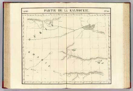 Partie, la Kalmoukie. Asie 56.