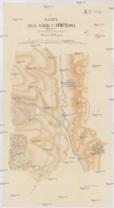 Plan děla bliz' g. Rejsmarka pri Kel'nekskom ovratě 20 ijulja 1849 goda