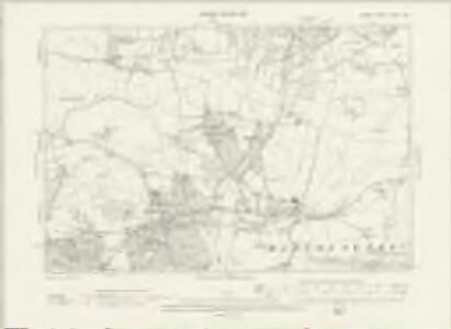 Surrey XXVII.SW - OS Six-Inch Map