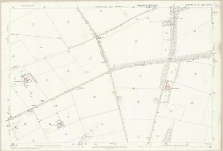 Yorkshire CXXVI.15 (includes: Foxholes; Kilham; Langtoft; Thwing; Weaverthorpe) - 25 Inch Map