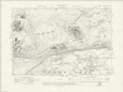 Surrey XVI.SW - OS Six-Inch Map