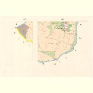 Zweindorf - c7603-1-003 - Kaiserpflichtexemplar der Landkarten des stabilen Katasters