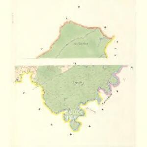 Petrowitz (Pustěgowo) - m2489-1-002 - Kaiserpflichtexemplar der Landkarten des stabilen Katasters