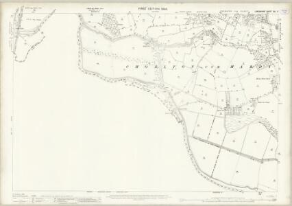 Lancashire CXI.5 (includes: Manchester; Sale; Stretford) - 25 Inch Map