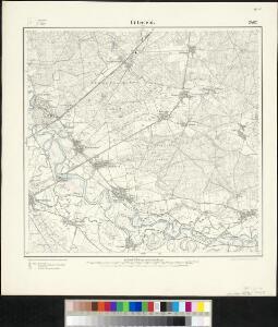 Meßtischblatt 2462 : Bitterfeld (Ost), 1904