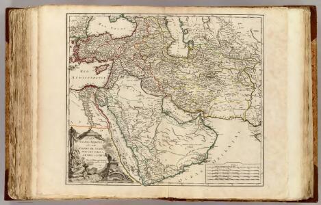 Etats du Grand-Seigneur en Asie, Perse, Pays des Usbecs, Arabie, Egypte.
