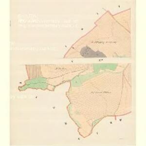 Aussee (Hausow) - m3235-1-005 - Kaiserpflichtexemplar der Landkarten des stabilen Katasters