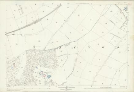 Cambridgeshire XLVI.9 (includes: Bourn; Kingston) - 25 Inch Map