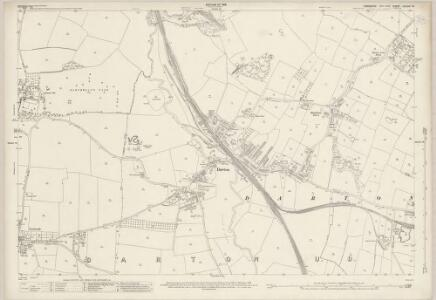 Yorkshire CCLXII.14 (includes: Darton; Woolley) - 25 Inch Map