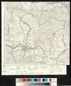 Meßtischblatt [4951] : Neustadt, 1936