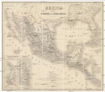 Mexico und die Republiken von Central -America