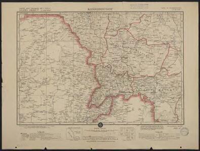 Carte des colonies de l'A.O.F. Kissidougou