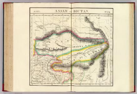 Assam et Boutan. Asie 84.