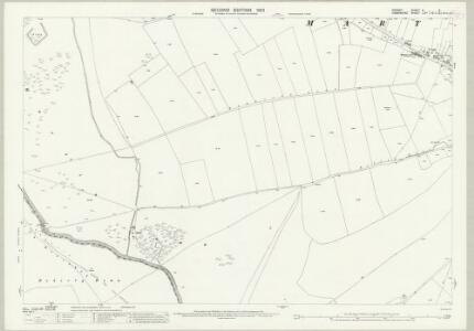 Dorset X.6 (includes: Martin; Pentridge) - 25 Inch Map
