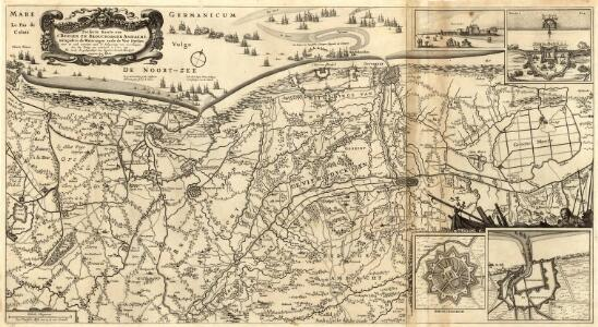 Perfecte Kaerte van t'Berger en Broucborger Ambacht, mitsgaders de Wateringen ende de Vier Dycken