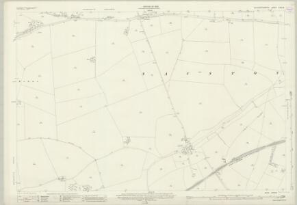 Gloucestershire XXVIII.6 (includes: Guiting Power; Hawling; Naunton) - 25 Inch Map
