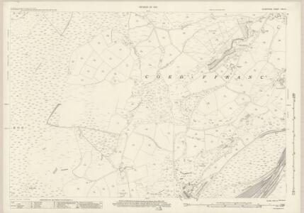 Glamorgan XXIV.3 (includes: Coed Ffranc; Swansea) - 25 Inch Map