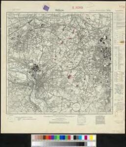 Messtischblatt 2575 : Mülheim an der Ruhr, 1931 Mülheim an der Ruhr