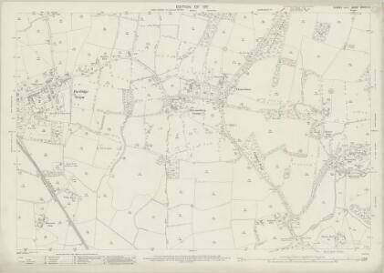 Sussex XXXVIII.5 (includes: Shermanbury; West Grinstead) - 25 Inch Map