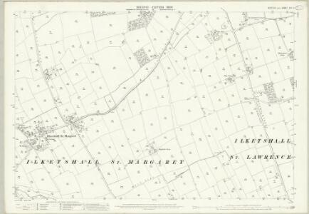 Suffolk XVII.8 (includes: Ilketshall St Lawrence; Ilketshall St Margaret) - 25 Inch Map
