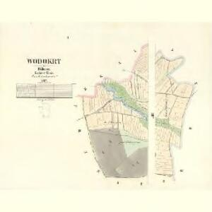 Wodokrt - c8722-1-002 - Kaiserpflichtexemplar der Landkarten des stabilen Katasters