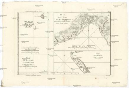 Isles de Madere, de Porto Santo, et celles des Salvages