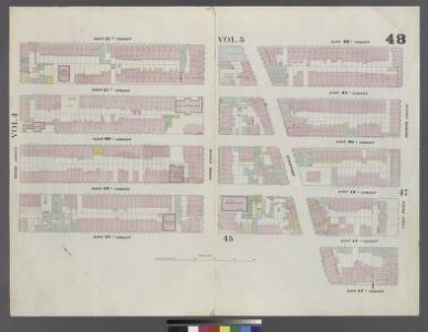 Plate 48: Map bounded by West 22nd Street, East 22nd Street, Fourth Avenue, Union Square North, Broadway, East 18th Street, West 18th Street, Sixth Avenue