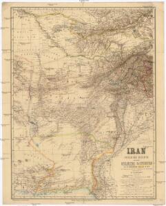 Iran Östliche Hälfte enthaltend Afghanistan, Balutschistan und die Özbeghischen Khanate am Oxus