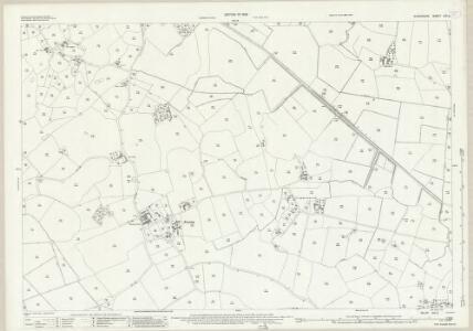 Shropshire XXI.2 (includes: Loppington; Wem Rural) - 25 Inch Map