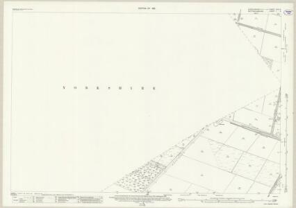 Lincolnshire XXIV.11 (includes: Blaxton; Finningley; Wroot) - 25 Inch Map