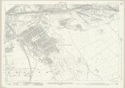 Yorkshire VI.15 (includes: Eston; Middlesbrough) - 25 Inch Map